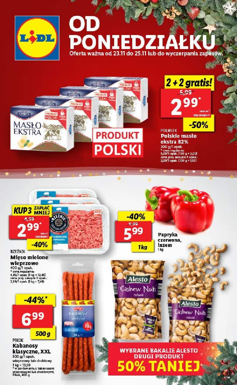 Gazetka promocyjna Lidl do 25/11/2020 str.1