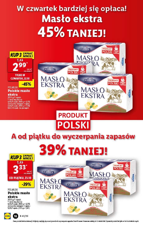 Gazetka promocyjna Lidl do 24/10/2020 str.16