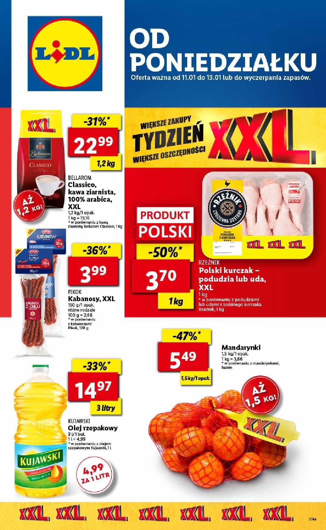 Gazetka promocyjna Lidl do 13/01/2021 str.1
