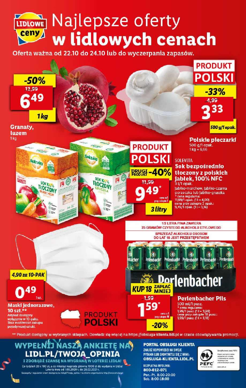 Gazetka promocyjna Lidl do 24/10/2020 str.48
