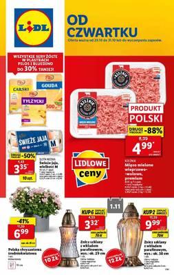 Lidl gazetka - od 29/10/2020 do 31/10/2020