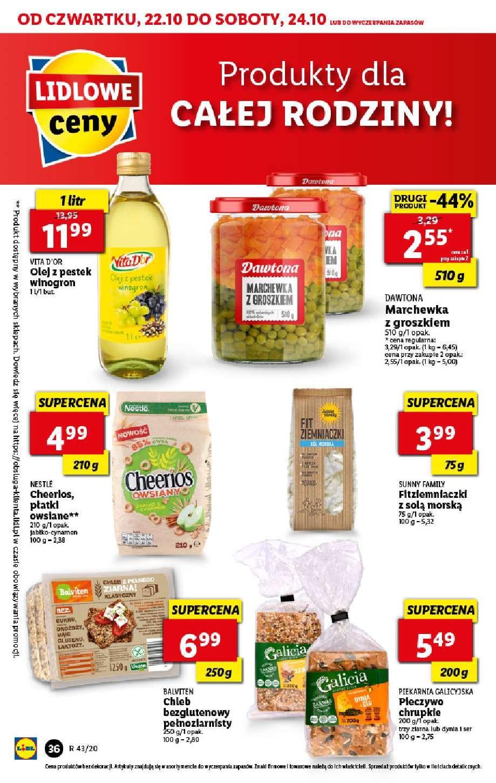 Gazetka promocyjna Lidl do 24/10/2020 str.36