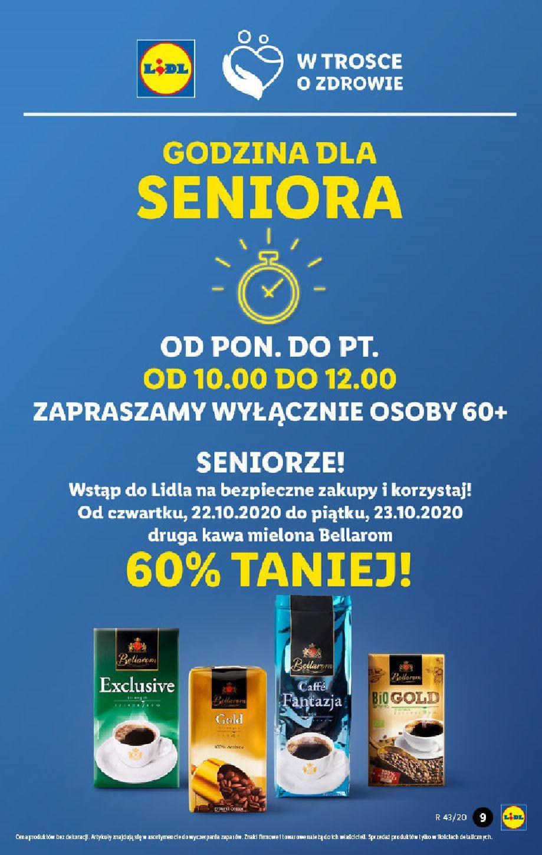 Gazetka promocyjna Lidl do 24/10/2020 str.9
