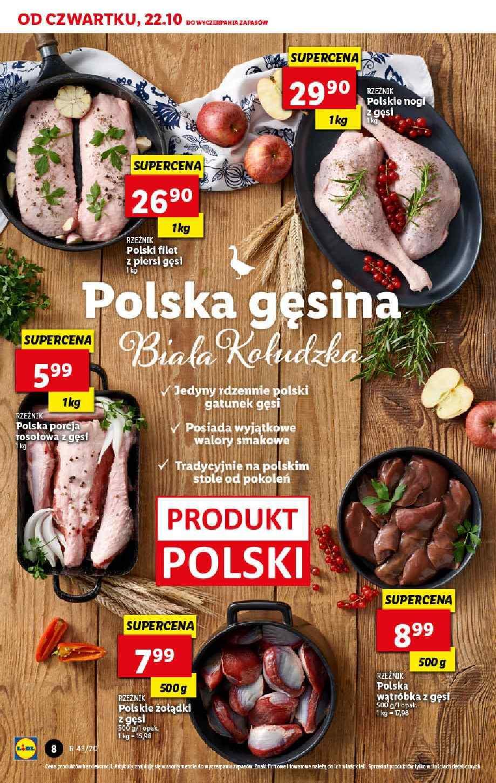 Gazetka promocyjna Lidl do 24/10/2020 str.8
