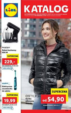 Lidl gazetka - od 18/10/2021 do 23/10/2021