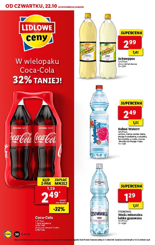 Gazetka promocyjna Lidl do 24/10/2020 str.30