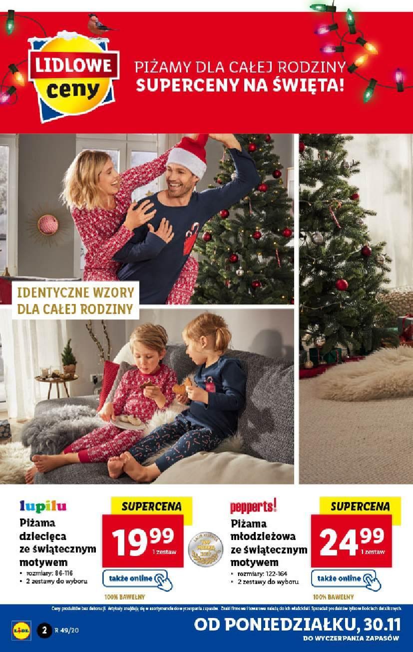 Gazetka promocyjna Lidl do 06/12/2020 str.2