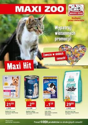 Maxi Zoo od 7 marca