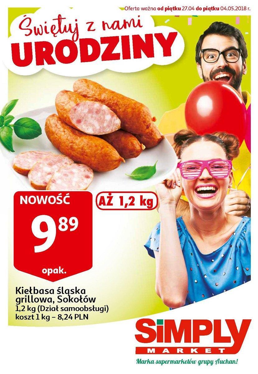 Gazetka promocyjna Simply Market do 04/05/2018 str.0