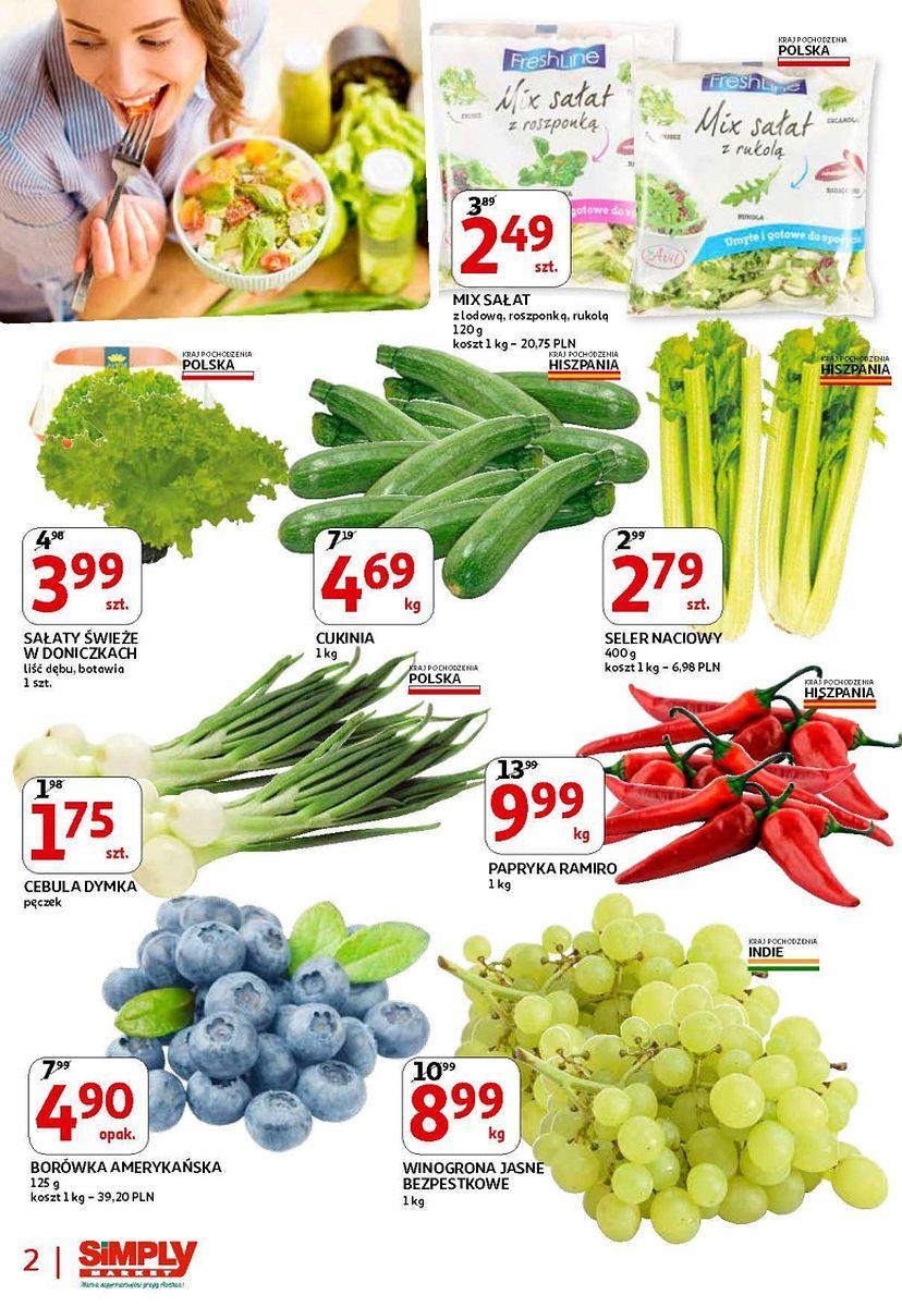 Gazetka promocyjna Simply Market do 26/04/2018 str.1