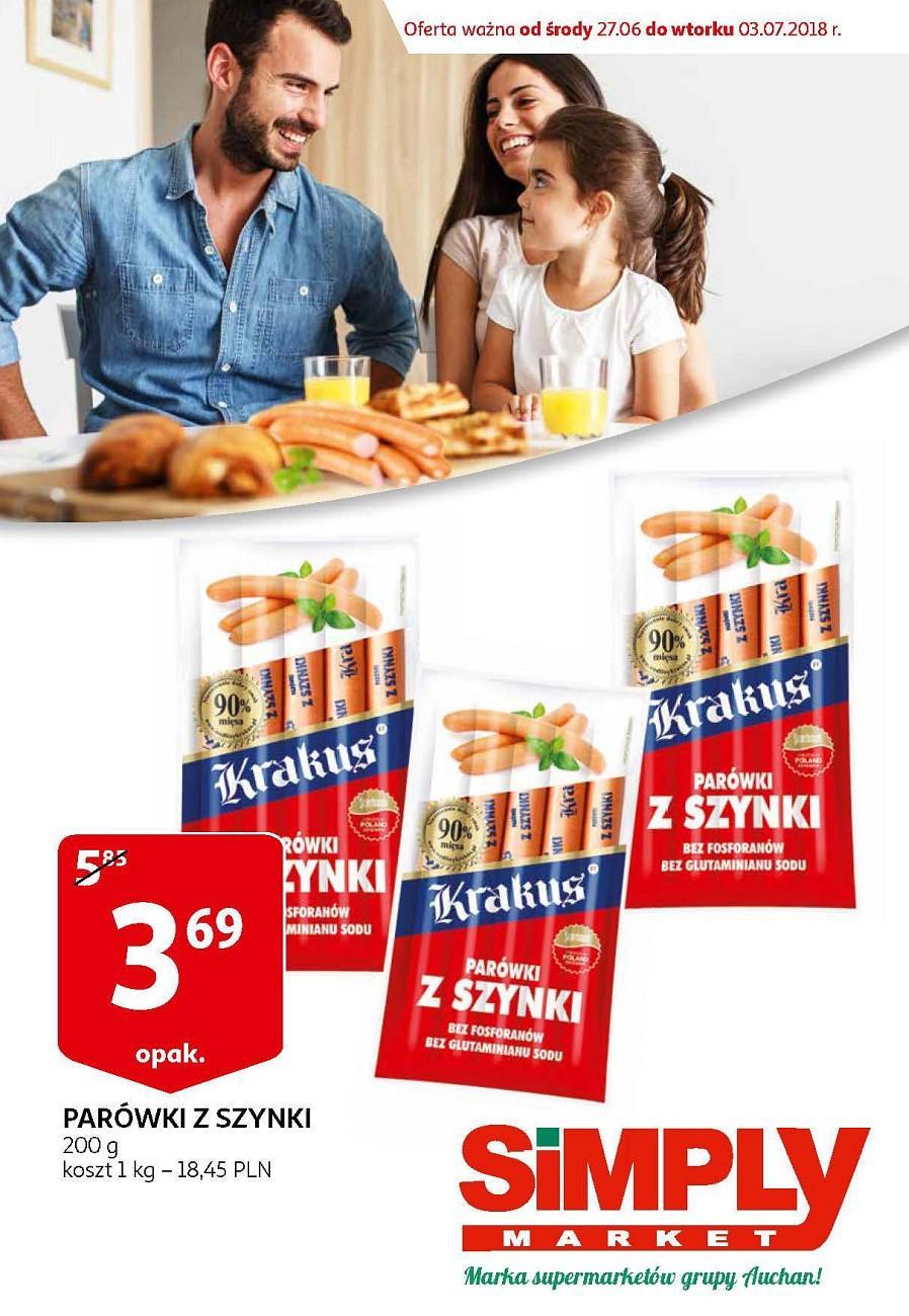 Gazetka promocyjna Simply Market do 03/07/2018 str.0
