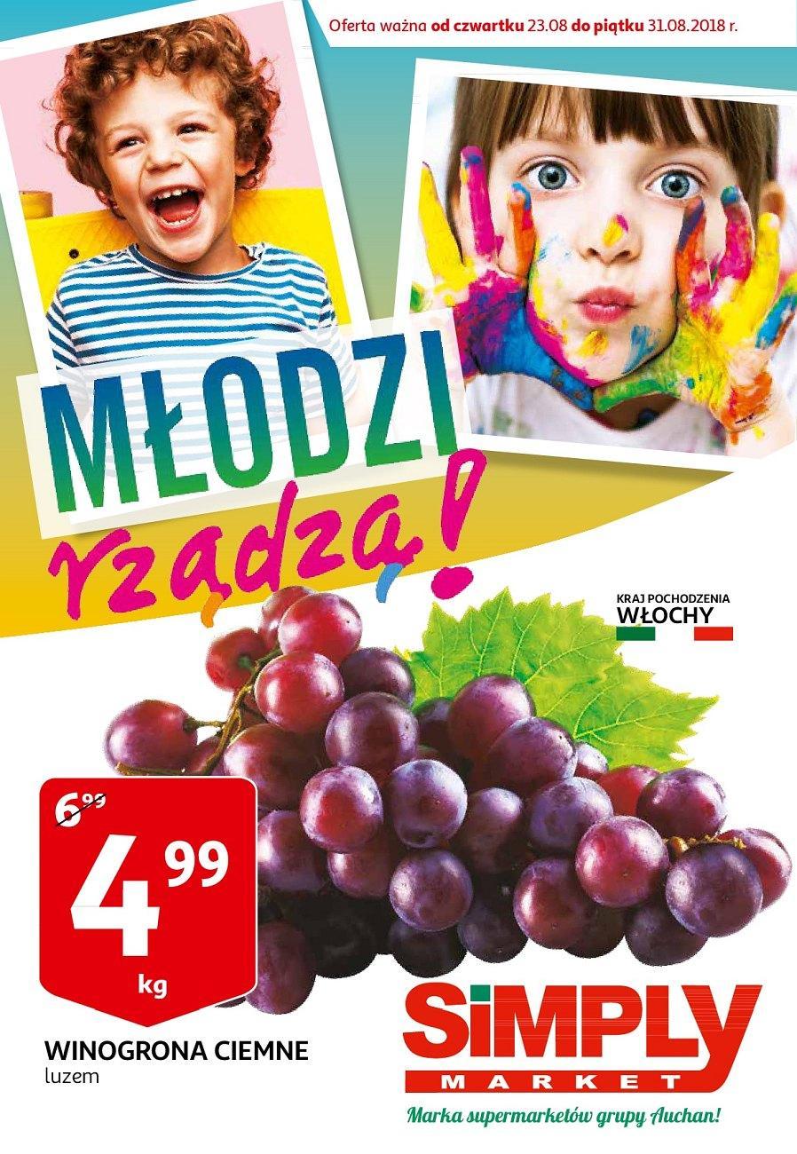 Gazetka promocyjna Simply Market do 31/08/2018 str.0