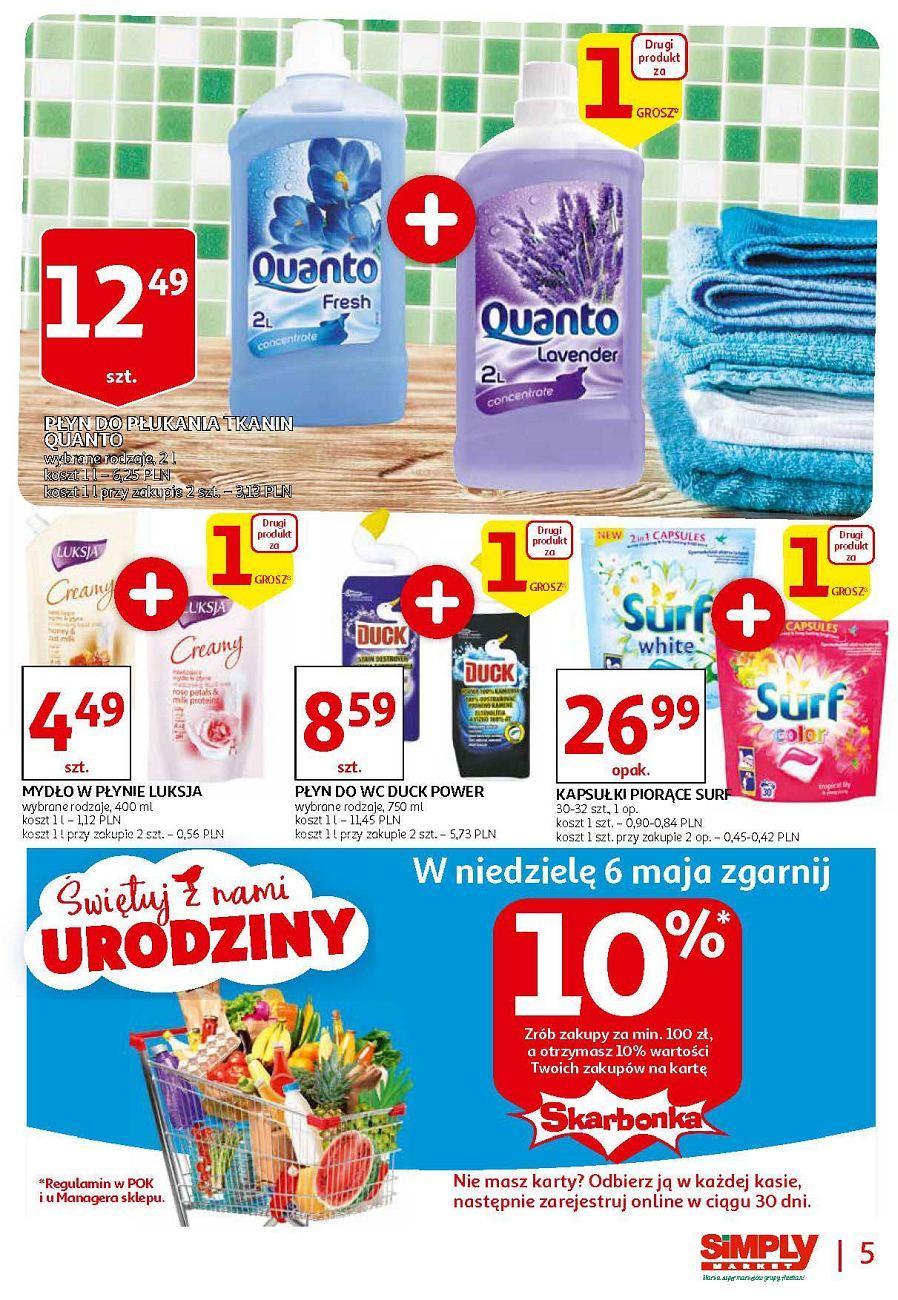Gazetka promocyjna Simply Market do 14/05/2018 str.4