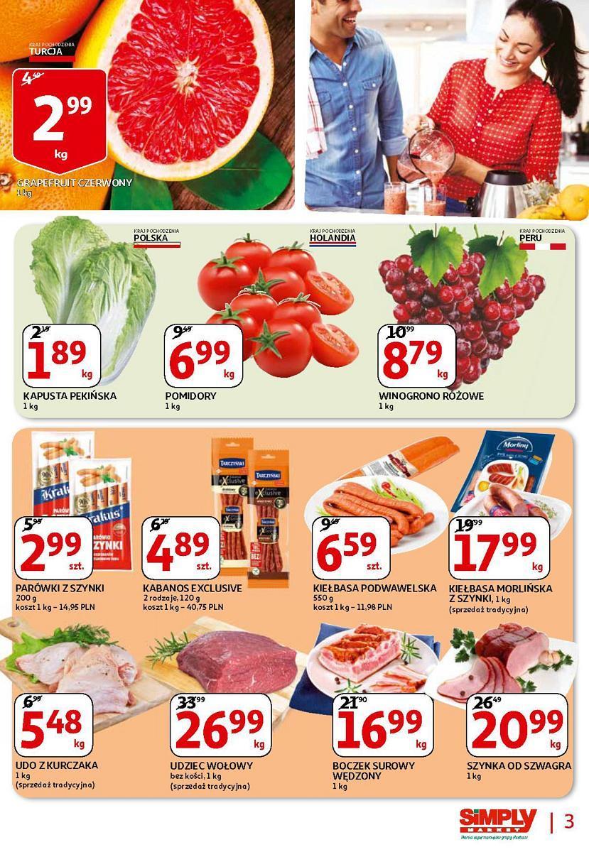 Gazetka promocyjna Simply Market do 21/03/2018 str.2