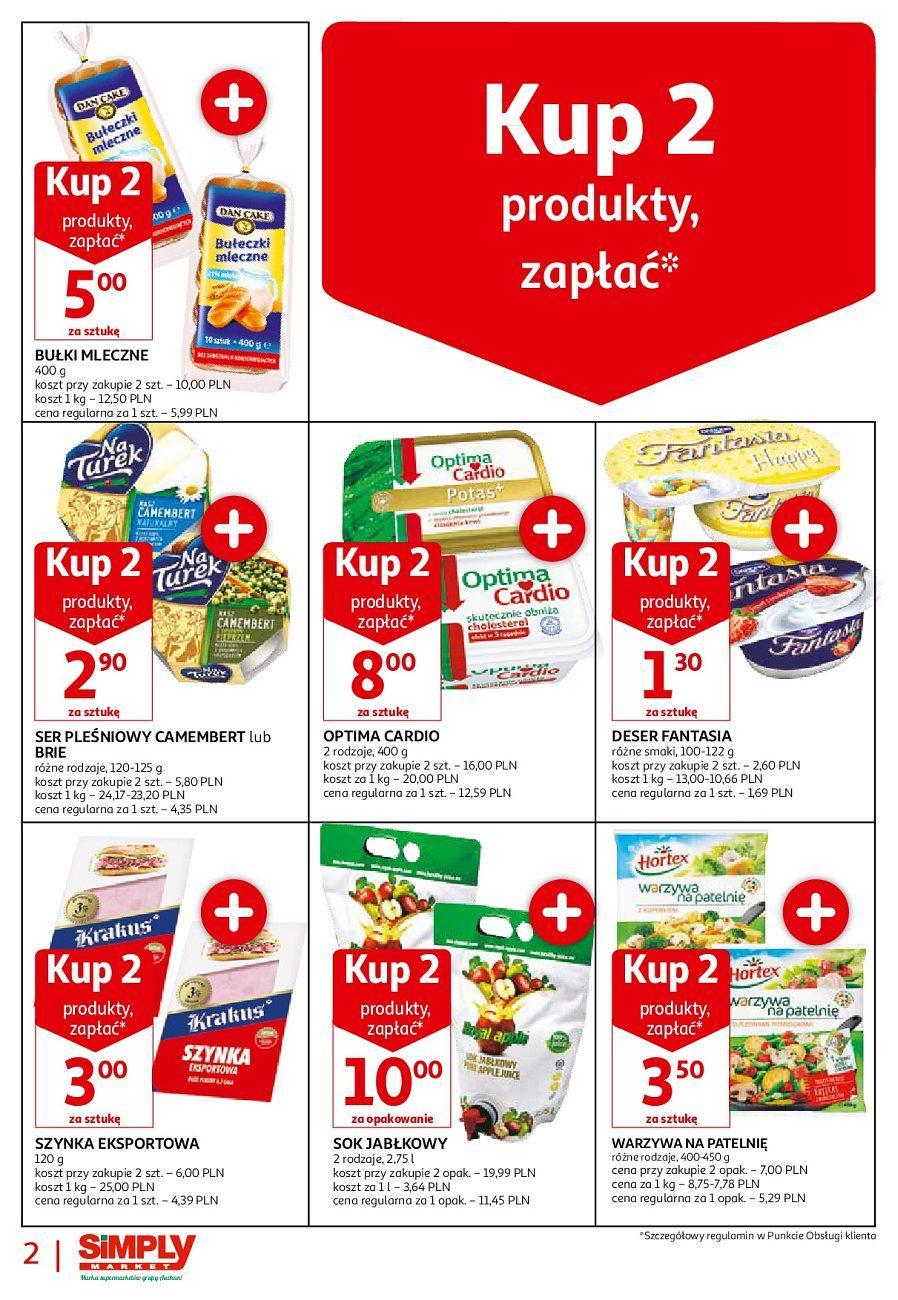 Gazetka promocyjna Simply Market do 31/08/2018 str.1