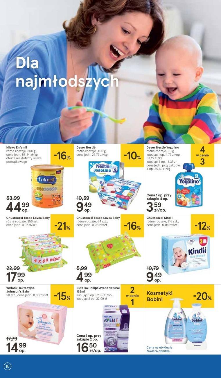 Gazetka promocyjna Tesco do 18/07/2018 str.18