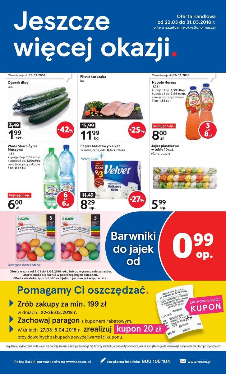Gazetka promocyjna Tesco do 28/03/2018 str.31