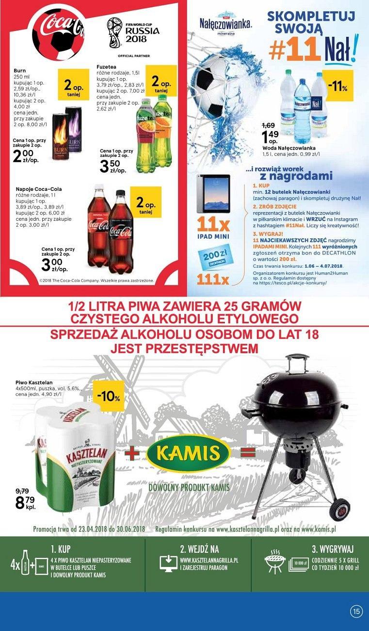 Gazetka promocyjna Tesco do 20/06/2018 str.15