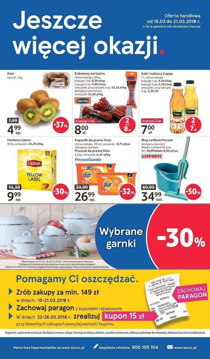 Gazetka promocyjna Tesco do 21/03/2018 str.47