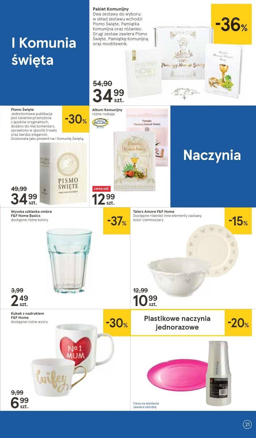 Gazetka promocyjna Tesco do 09/05/2018 str.20