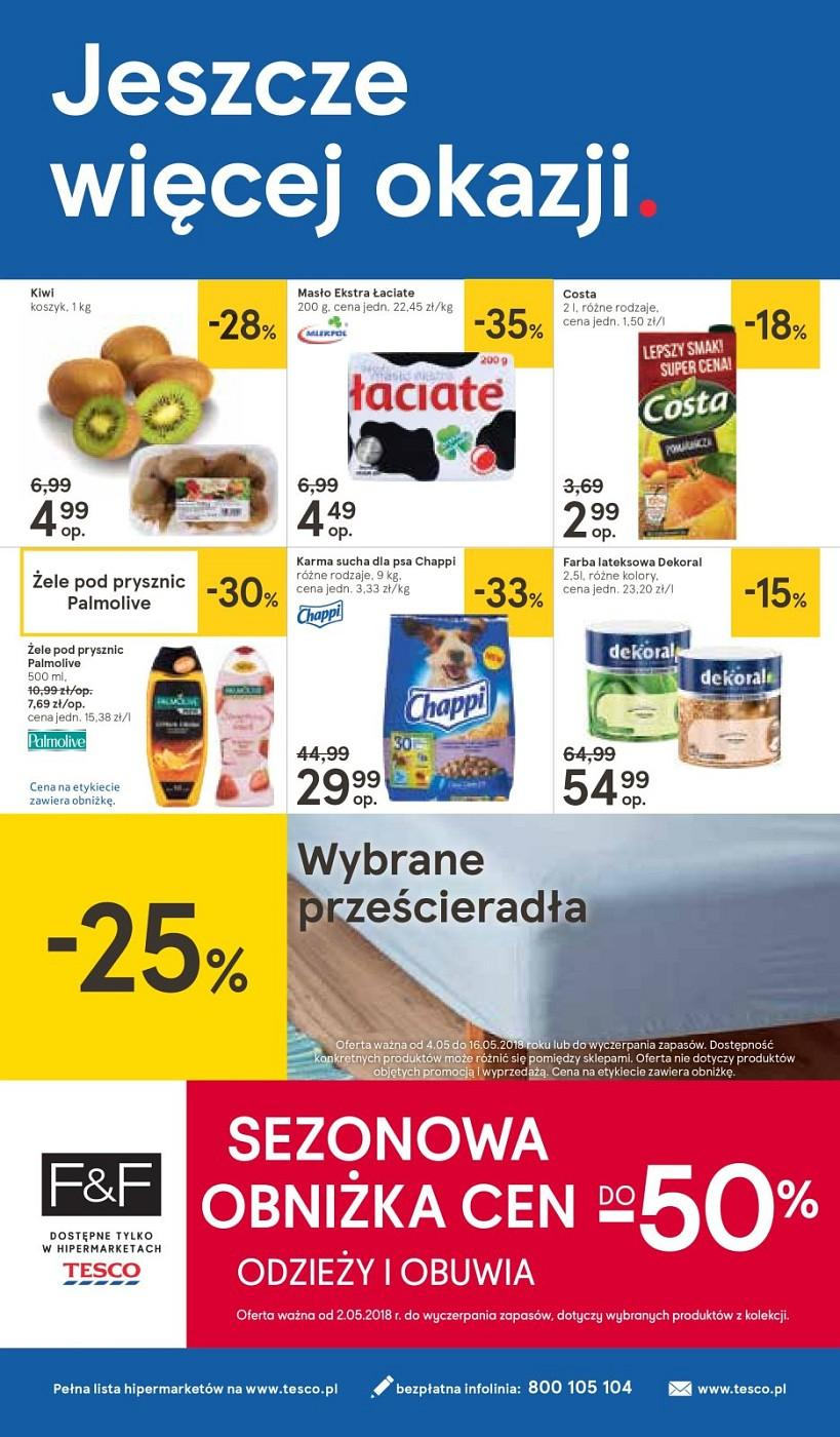 Gazetka promocyjna Tesco do 09/05/2018 str.32
