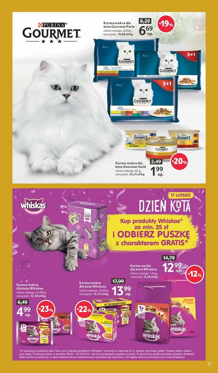 Gazetka promocyjna Tesco do 21/02/2018 str.16