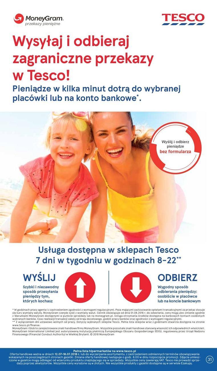 Gazetka promocyjna Tesco do 18/07/2018 str.30