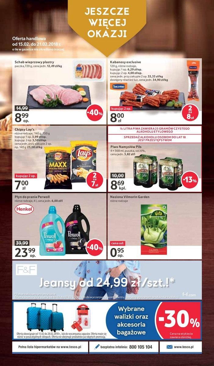 Gazetka promocyjna Tesco do 21/02/2018 str.31