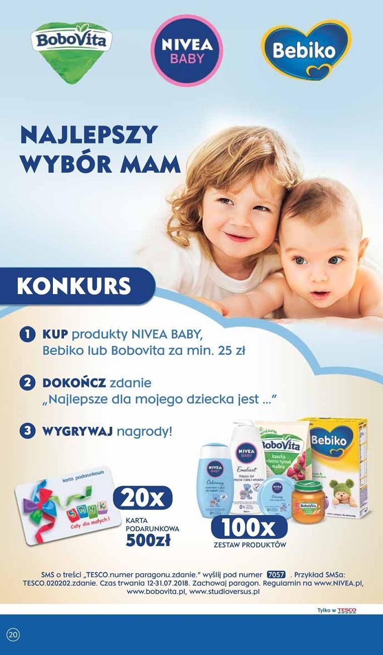Gazetka promocyjna Tesco do 18/07/2018 str.20