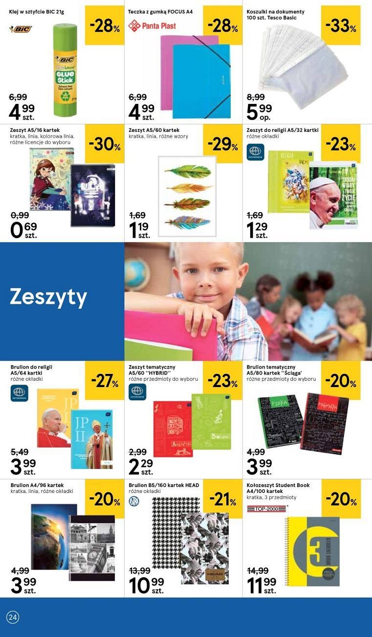 Gazetka promocyjna Tesco do 08/08/2018 str.24