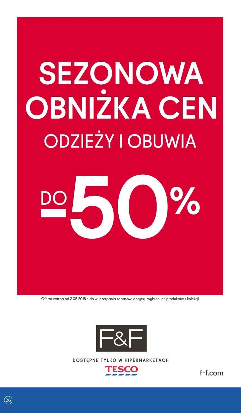 Gazetka promocyjna Tesco do 09/05/2018 str.25