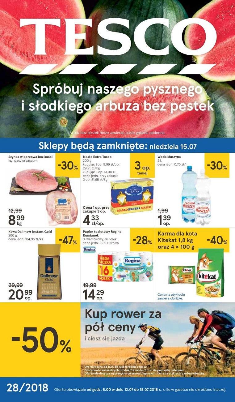 Gazetka promocyjna Tesco do 18/07/2018 str.0