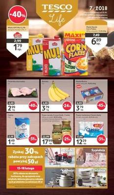 Tesco gazetka - od 15/02/2018 do 21/02/2018