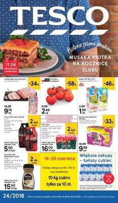 Tesco gazetka  - od 14/06/2018 do 20/06/2018