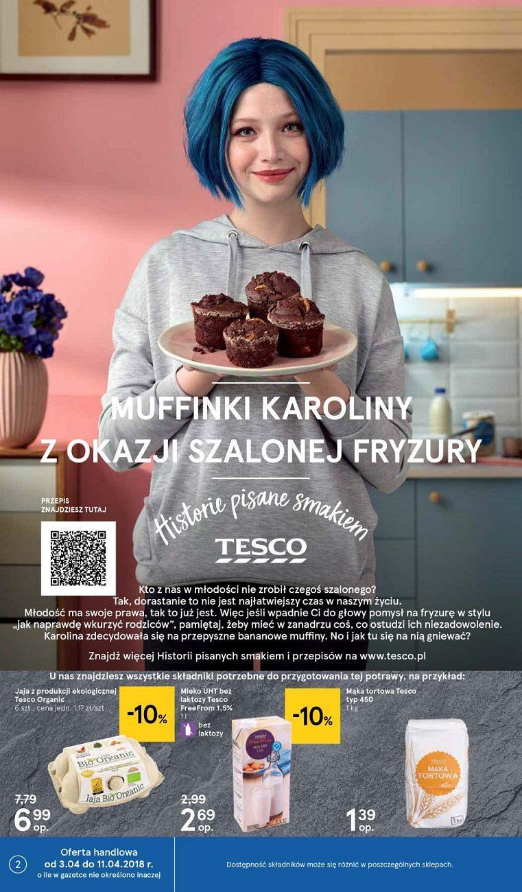 Gazetka promocyjna Tesco do 11/04/2018 str.1