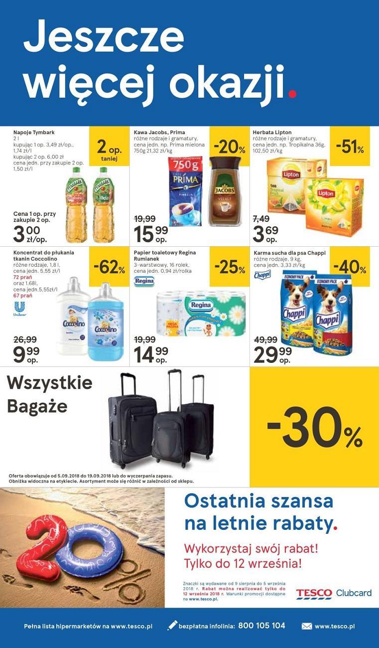 Gazetka promocyjna Tesco do 12/09/2018 str.36