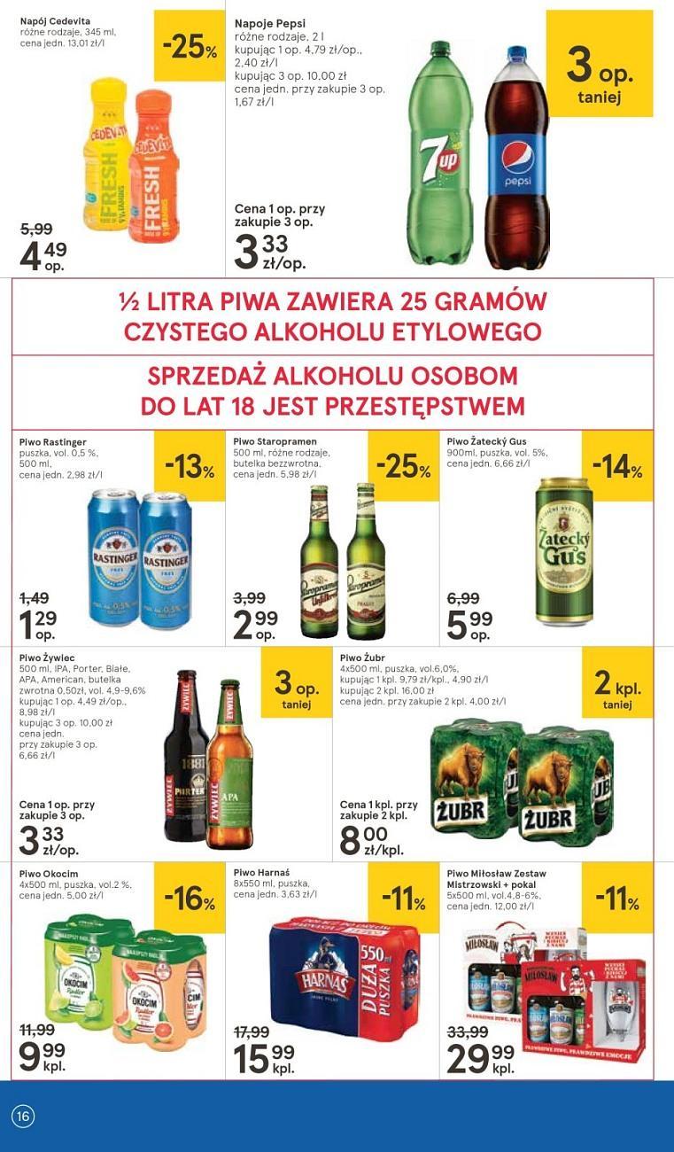 Gazetka promocyjna Tesco do 18/07/2018 str.16