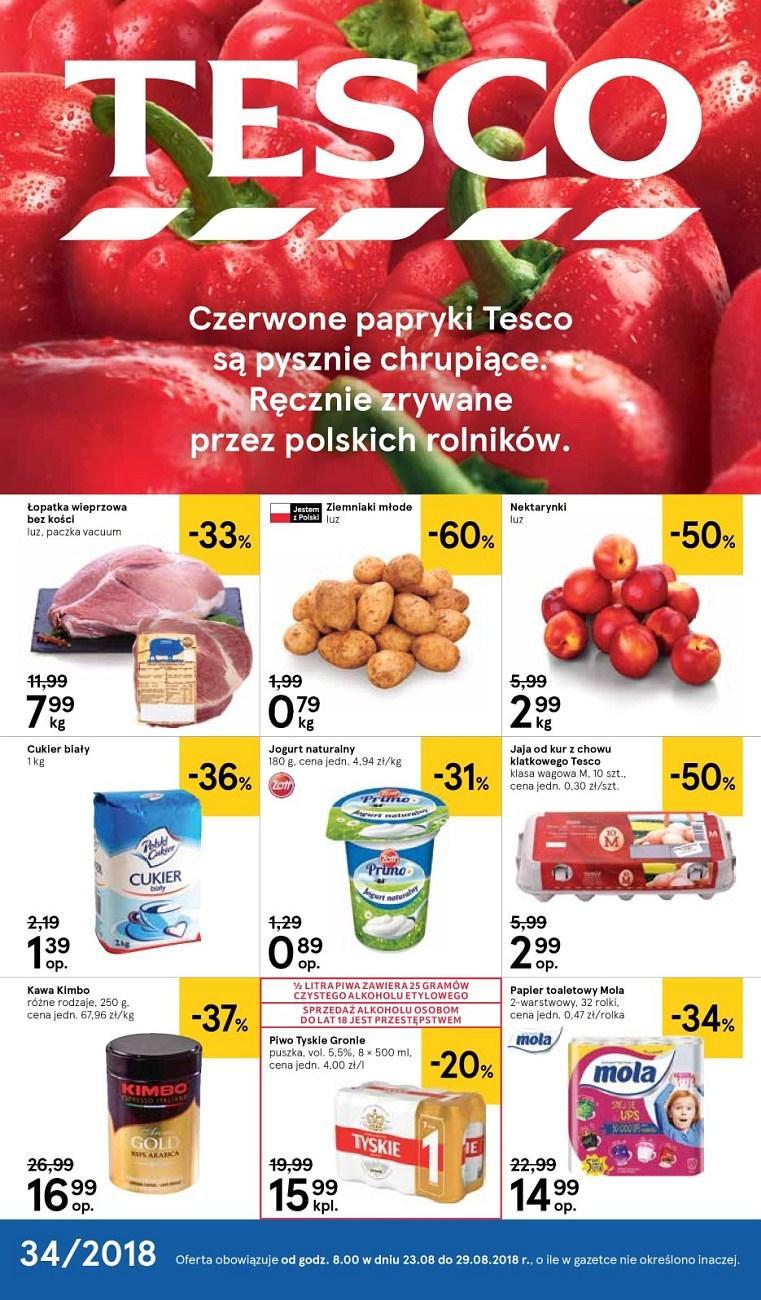 Gazetka promocyjna Tesco do 29/08/2018 str.0