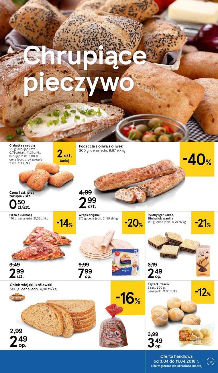 Gazetka promocyjna Tesco do 11/04/2018 str.4