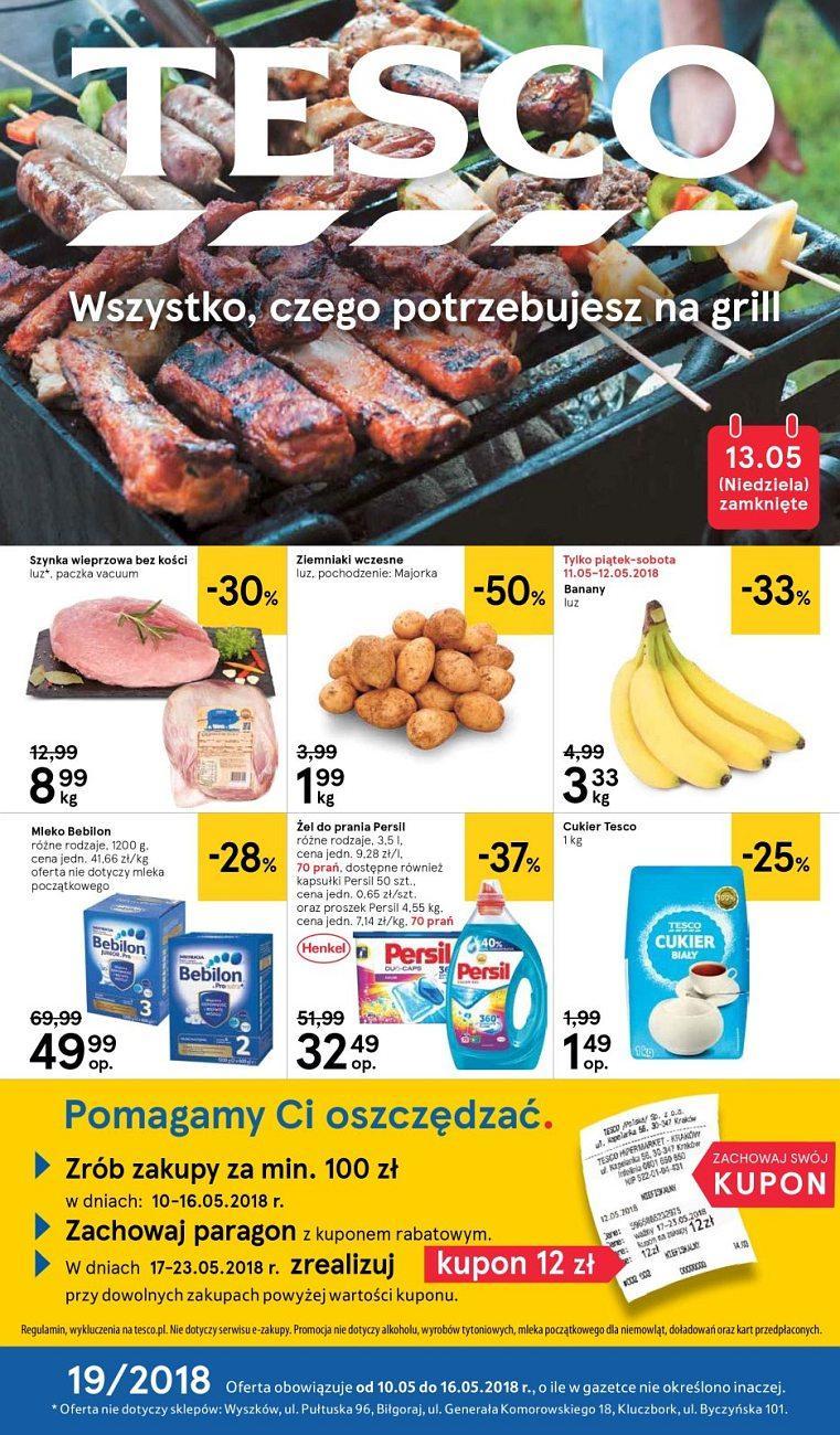 Gazetka promocyjna Tesco do 16/05/2018 str.0
