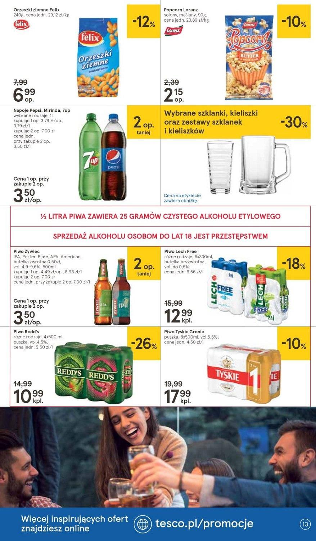 Gazetka promocyjna Tesco do 26/09/2018 str.13