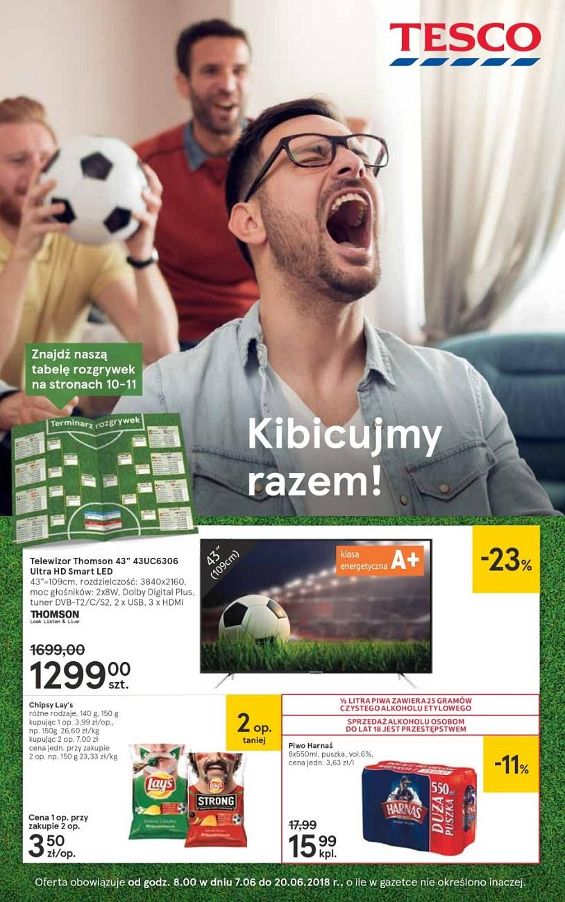 Gazetka promocyjna Tesco do 20/06/2018 str.0