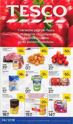 Tesco gazetka - od 23/08/2018 do 29/08/2018