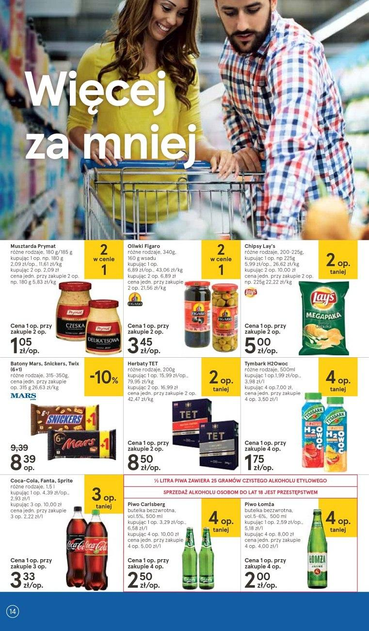 Gazetka promocyjna Tesco do 18/07/2018 str.14