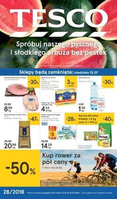 Tesco gazetka - od 12/07/2018 do 18/07/2018