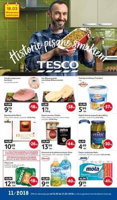 Tesco gazetka  - od 15/03/2018 do 21/03/2018