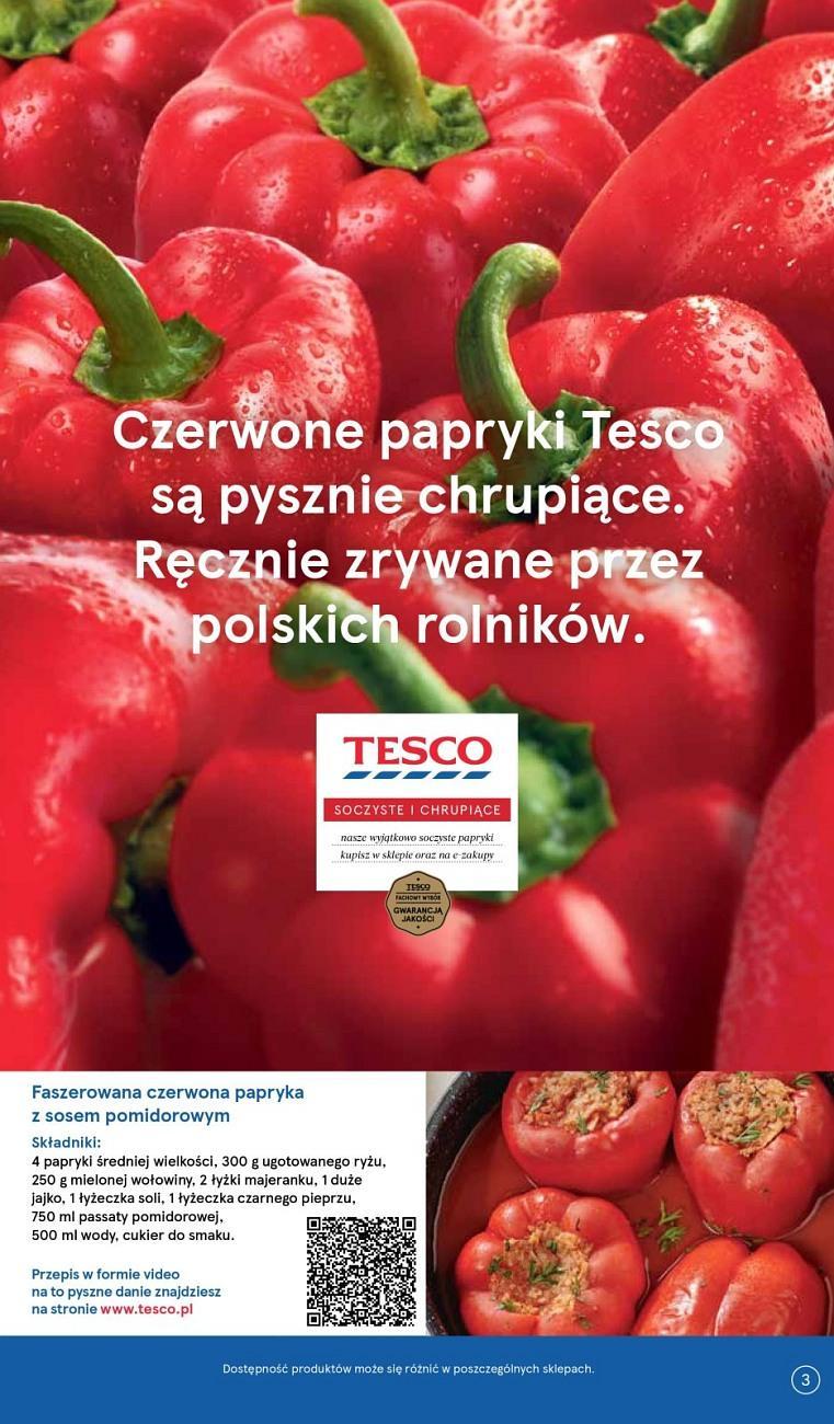 Gazetka promocyjna Tesco do 08/08/2018 str.3