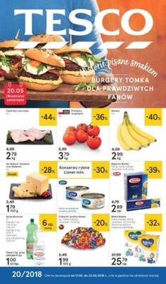 Tesco gazetka - od 17/05/2018 do 23/05/2018