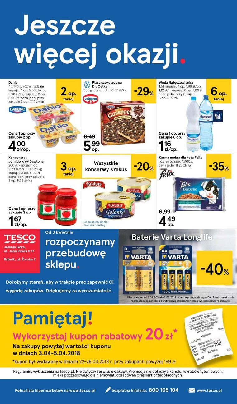 Gazetka promocyjna Tesco do 11/04/2018 str.27