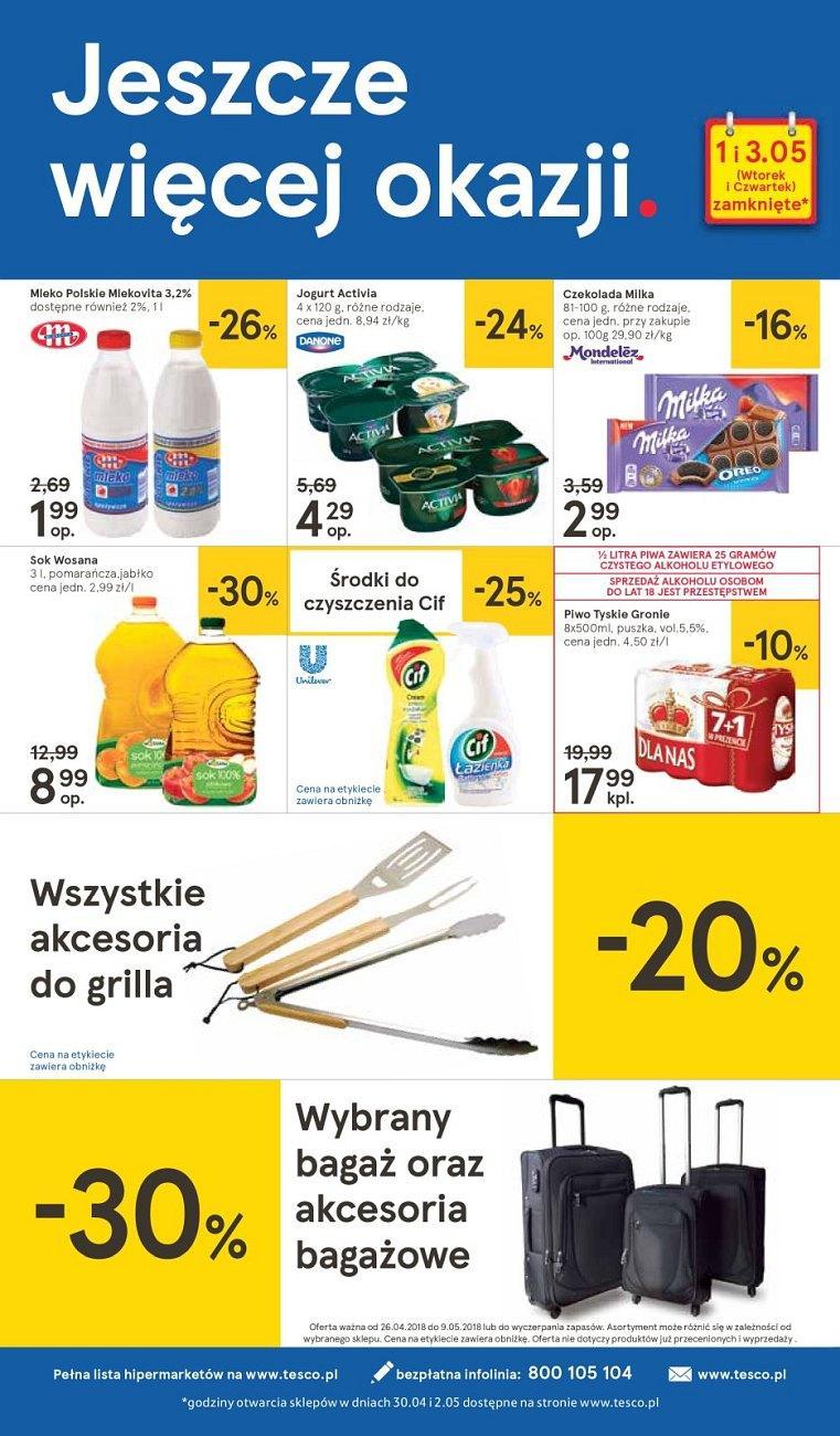 Gazetka promocyjna Tesco do 02/05/2018 str.31